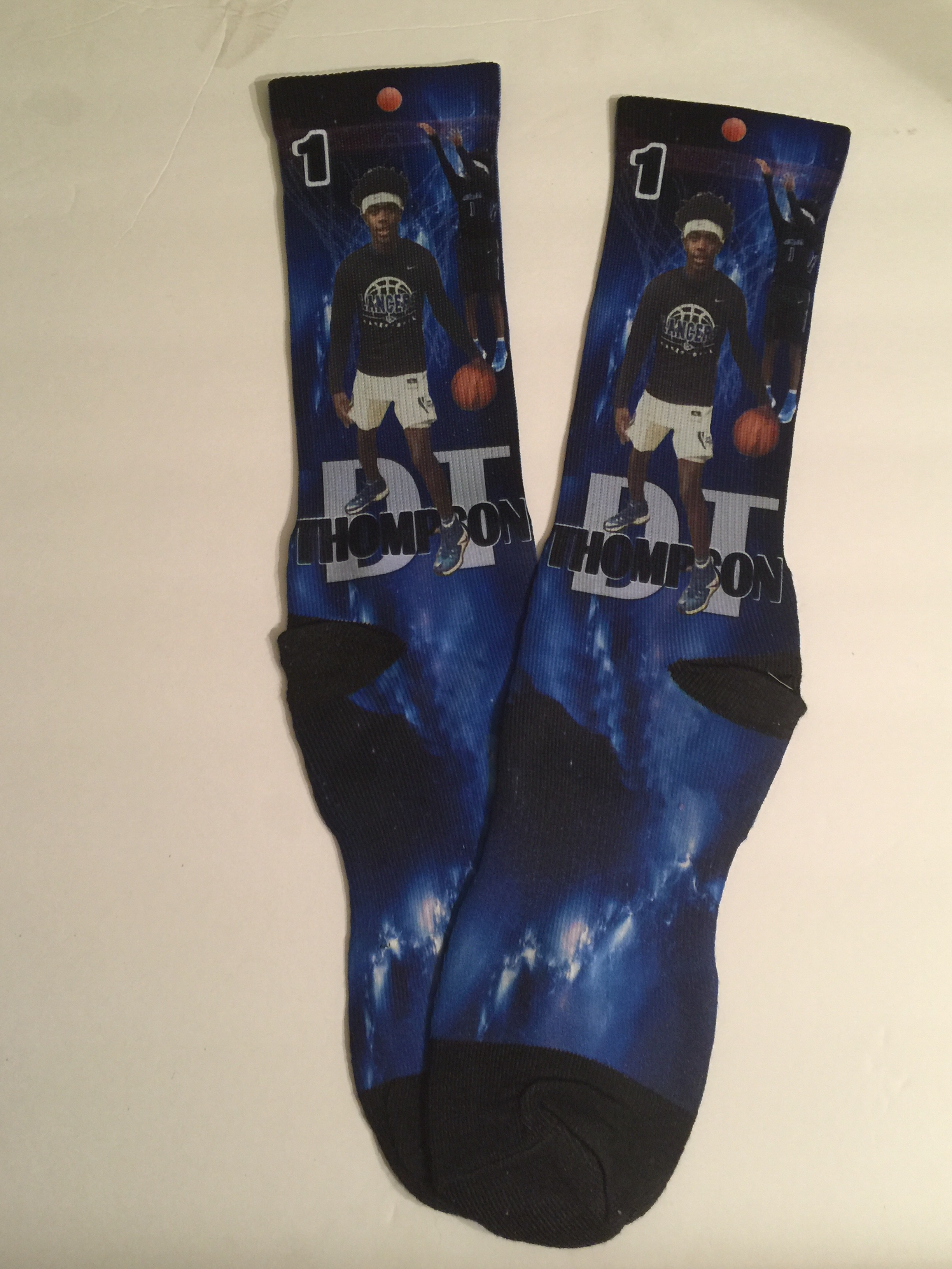 No. 1 Basketball Socks