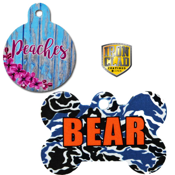 Ironclad 2-Sided Pet Tags