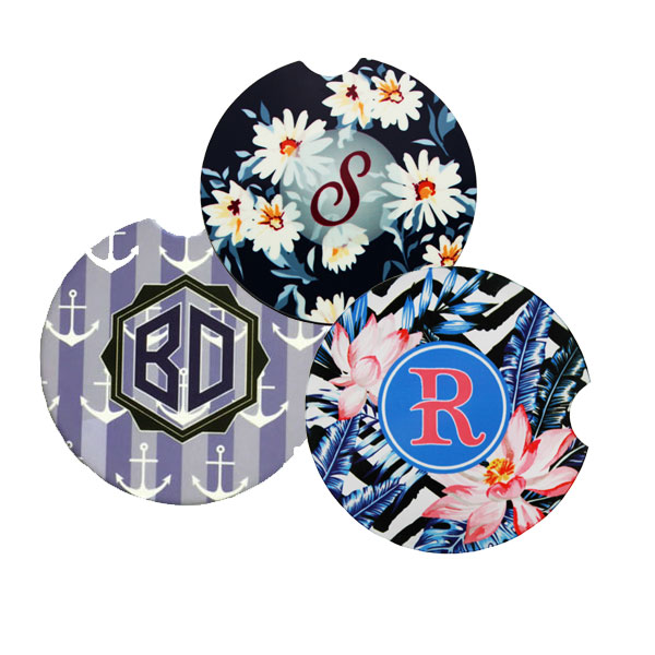 Car Coasters for Sublimation Imprinting