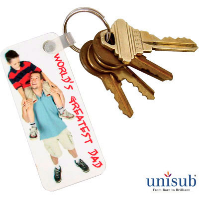 Unisub® FRP Key Tags for Sublimation Imprinting