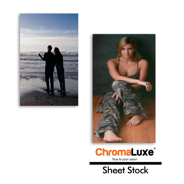 ChromaLuxe® Aluminum Sheet Stock for Sublimation Imprinting