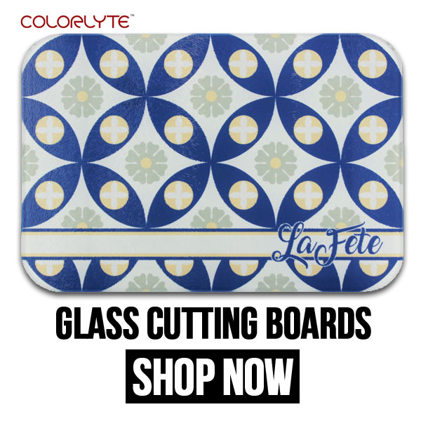 DyeTrans Glass Cutting Boards for Sublimation Imprinting