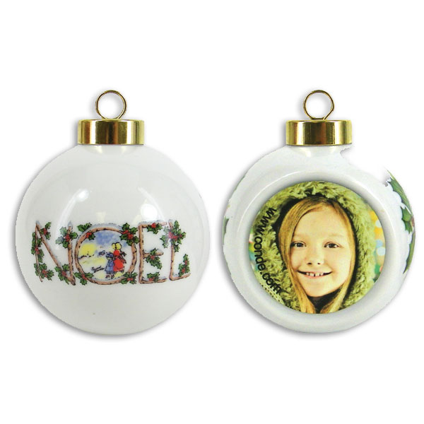 Heirloom Ball Ornaments for Sublimation Imprinting