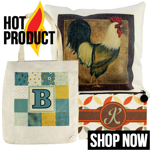 PolyLinen Products for Sublimation Imprinting