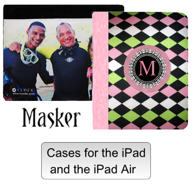 Masker iPad Covers for Sublimation Imprinting