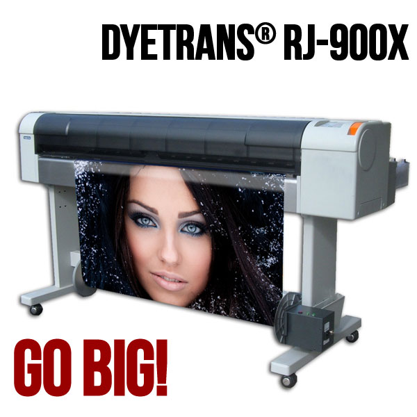 44 DyeTrans RJ-900X by Mutoh with Package Deal