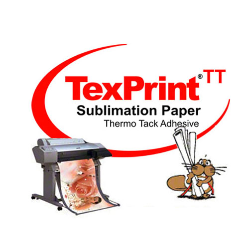 TexPrint ThermoTack® Adhesive Sublimation Paper for Apparel Applications
