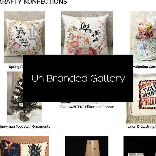 Unbranded Client Gallery