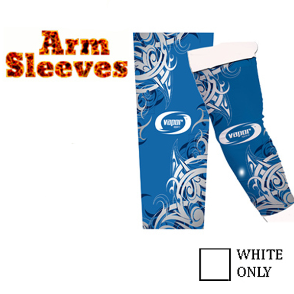 Vapor Arm Sleeves for Sublimation Imprinting