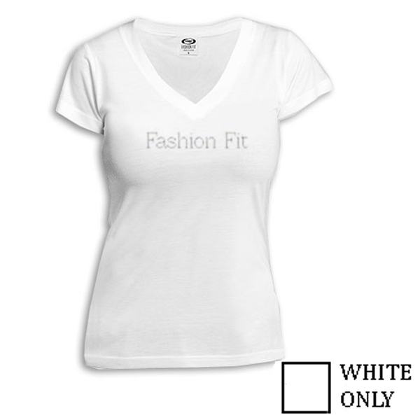 Vapor Fashion Fit Ladies V Neck for Sublimation Imprinting