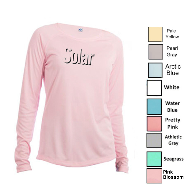 Vapor Ladies Solar Performance L/S for Sublimation Imprinting