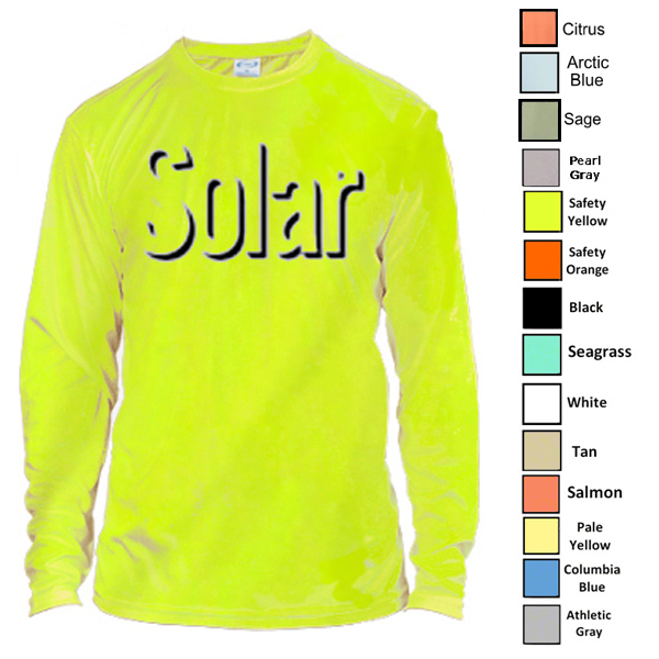 Vapor Solar Performance L/S for Sublimation Imprinting