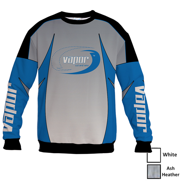 Vapor Crew Sweatshirt for Sublimation Imprinting