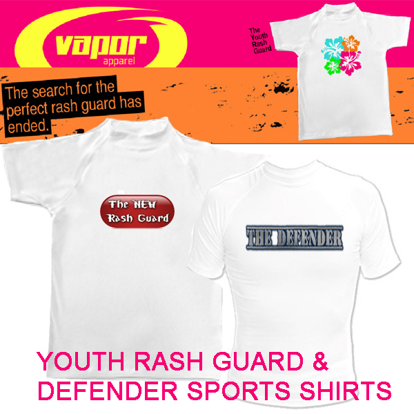 Vapor Youth Defender S/S for Sublimation Imprinting