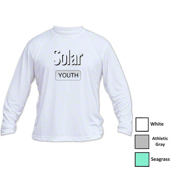 Vapor Youth Solar Performance L/S for Sublimation Imprinting