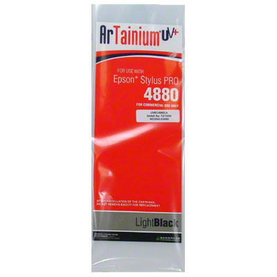 Epson 4880: ArTainium UV+ 110ml Cartridge:Lt Black