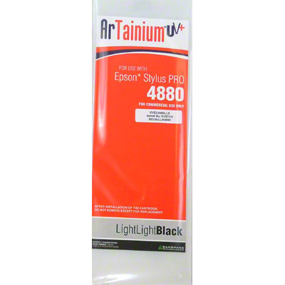 Epson 4880:ArTainiumUV+ 110ml Cartridge:LtLt Black
