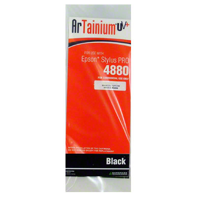Epson 4880: ArTainium UV+ 110ml Cartridge: Black