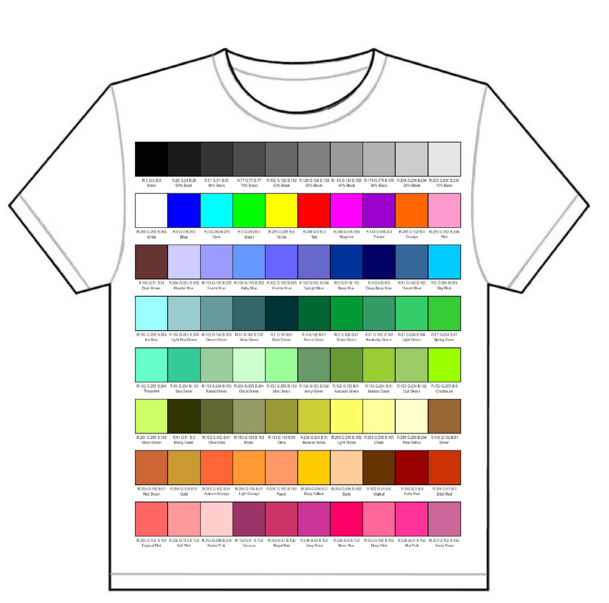 Creating Sample Color Swatches by Roger Wambolt