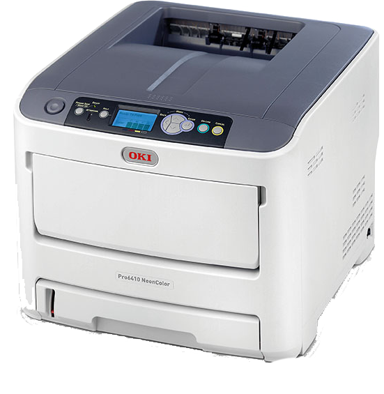 Target Markets for the OKI pro6410 NEON White Toner Printers