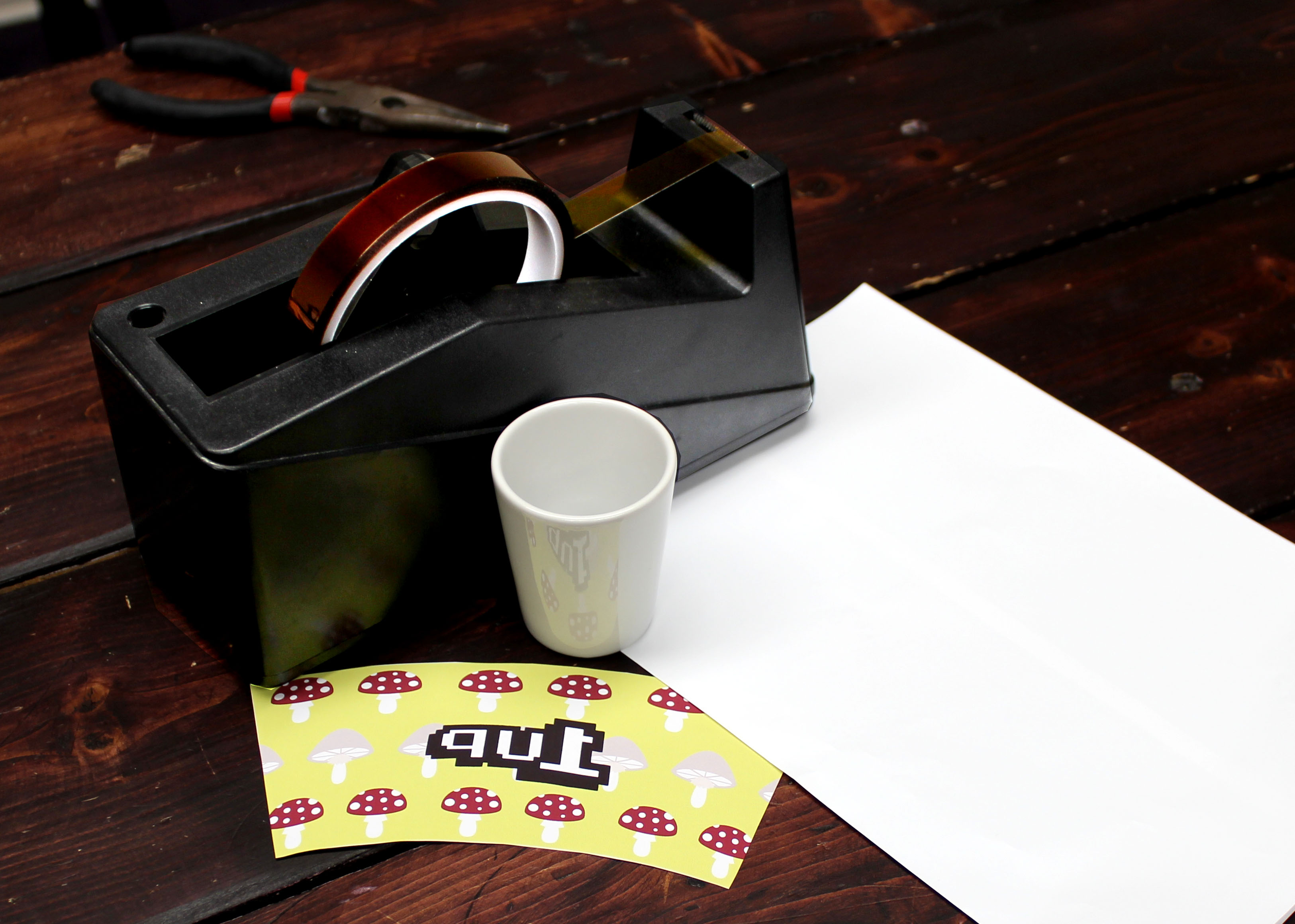 How to Sublimate Poly Coated Shot Glasses