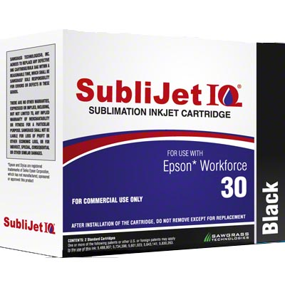 WF30 - SubliJetIQ� Sublimation Ink - Black