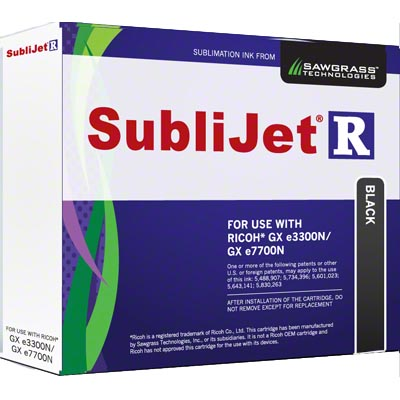 e3300N/7700N SubliJet-R Ink - Black