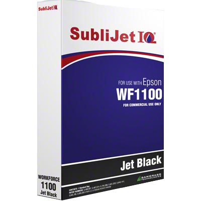 WF1100 SubliJetIQ Refill Bag - Jet Black
