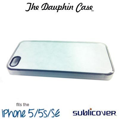 Dauphin Rubber iPhone 5/5s Case - Clear
