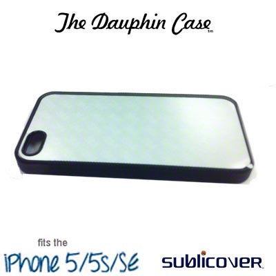Dauphin Rubber iPhone 5/5s Case - Black