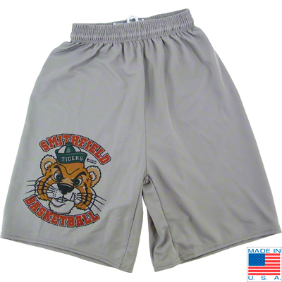 Gray Vapor� Micro Performance Shorts - Adult Small