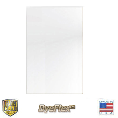 12x24 DyeFlex IronClad Sheet Stock - Satin White