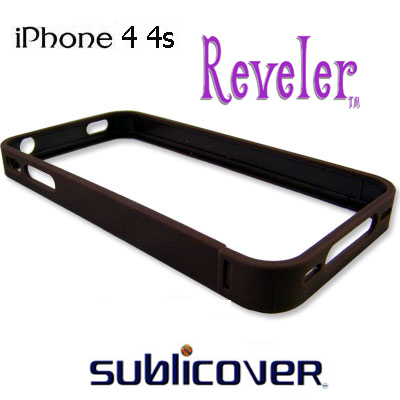 iPhone 4/4s Reveler Bumper Cases 2 pk -Siena Brown