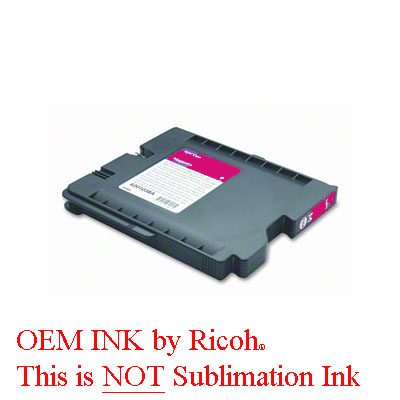 OEM Magenta Gel Cartridge for the Ricoh GX7000
