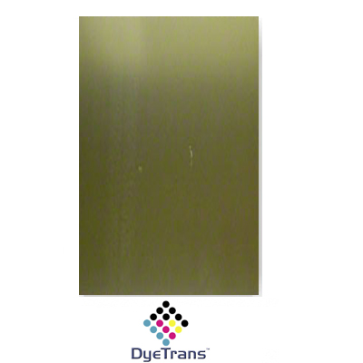 24x12 Satin Gold DyeTrans Aluminum Sheet Stock