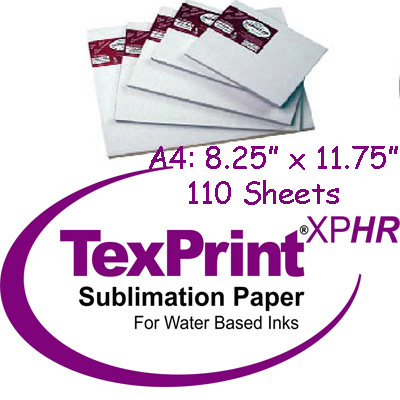 TexPrint XP 8.25x11.75 Special Order Only 110pk