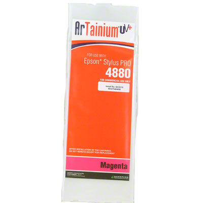 Epson 4880: ArTainium UV+ 110ml Cartridge: Magenta