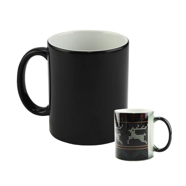 Morph Mug Sublimation Blank Ceramic Color Changing Mug