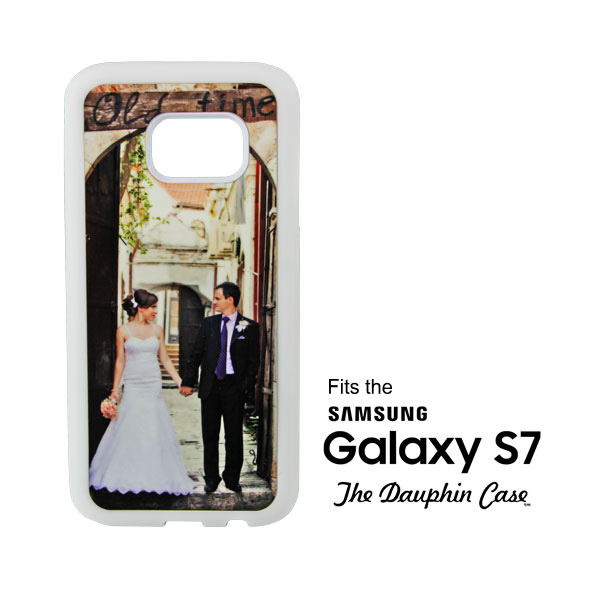Galaxy S7® White Dauphin™ Hard Rubber Case