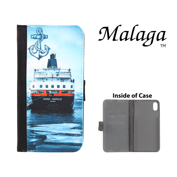 Dyetrans Sublimation Blank iPhone XR Malaga Notebook Case - Black