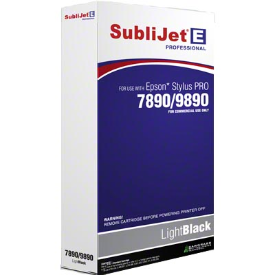 SubliJet-E 350ml Ink Cartridge - Light Black