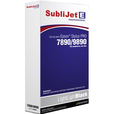 SubliJet Light Light Black 350ml Cartridge
