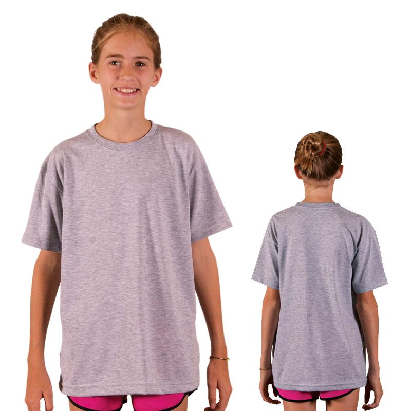 f705f365a9b5 Vapor Youth Short Sleeve Basic T - Ash Heather
