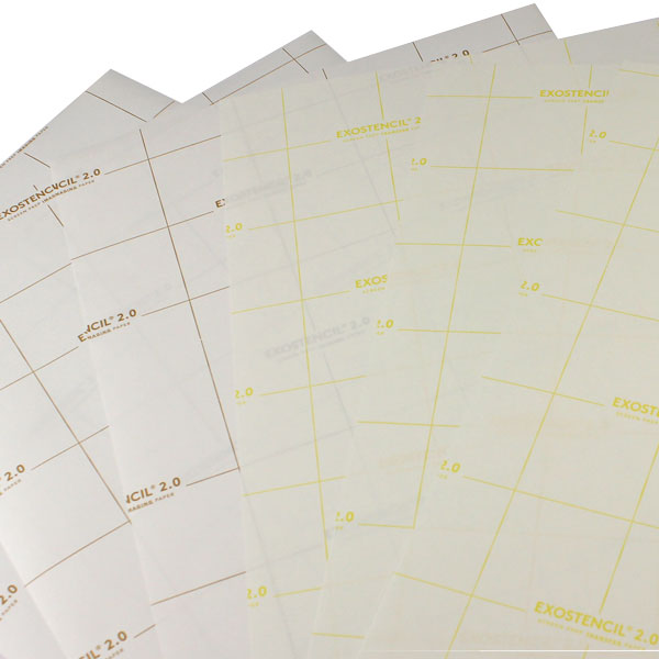 11x17 EXOSTENCIL™ Screen Prep Paper -100 sheets