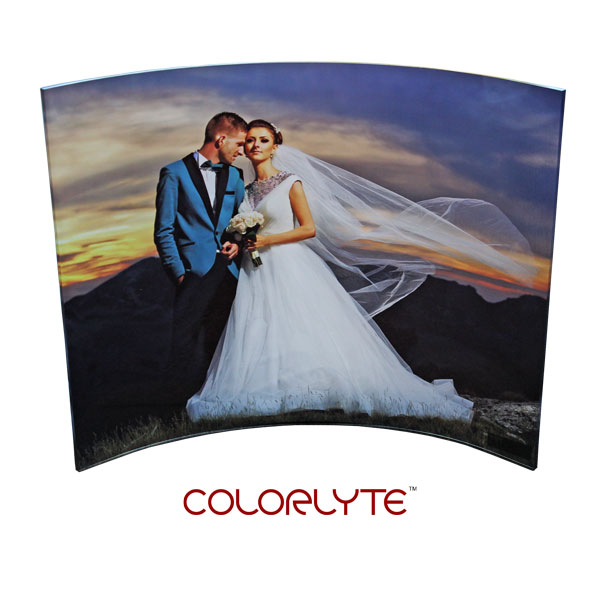 ColorLyte Sublimation Blank Curved Acrylic Photo Panel - 11