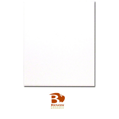 X Bison Tile Gloss White - 8 x 10 white ceramic tile