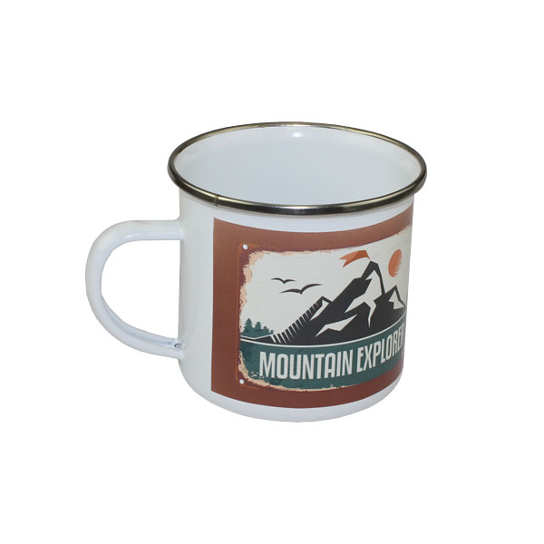 Sublimation Stainless Steel Camp Cup 10 oz - White