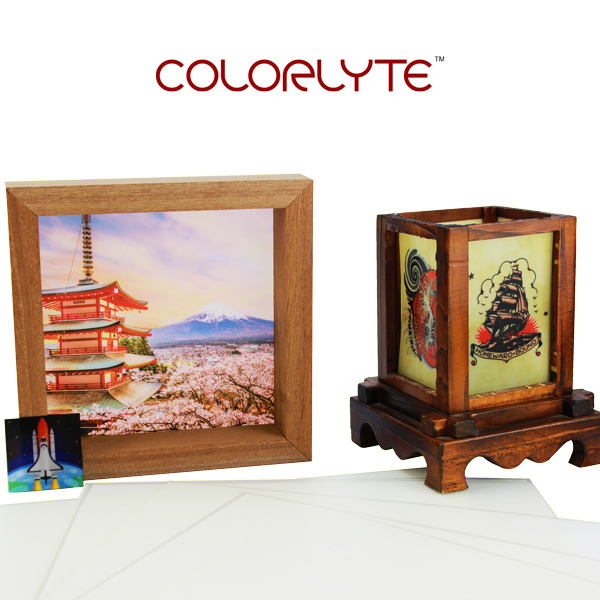 12x24 ColorLyte Sublimation Film - Satin White