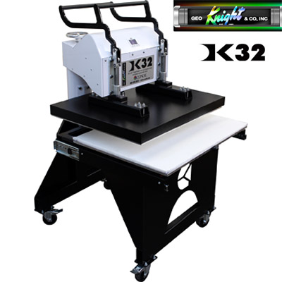 26x32 George Knight® Manual Heat Press