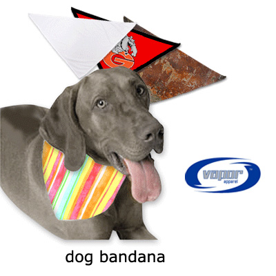 Vapor Sublimation Blank Pet Bandana - 26